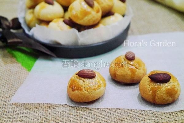 杏仁小圆饼的做法