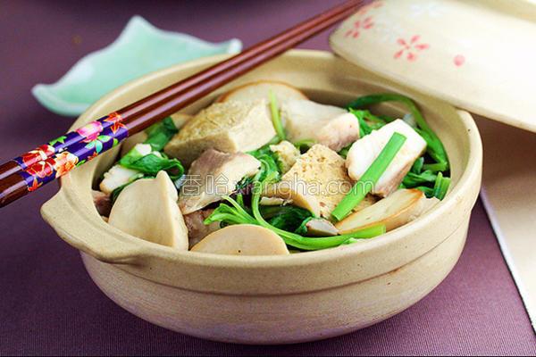 鲷鱼豆腐煲的做法