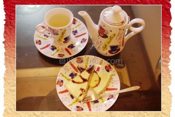 抹茶起司蛋糕的做法