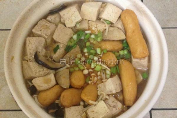 酱烧臭豆腐的做法