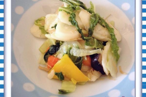 蔬菜炒年糕的做法