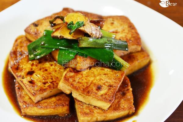 可尔必思酱烧豆腐的做法