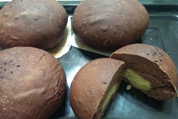 巧克力地瓜面包的做法