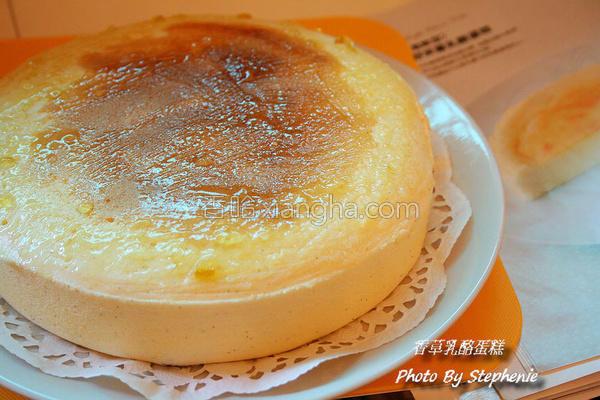 香草乳酪蛋糕的做法
