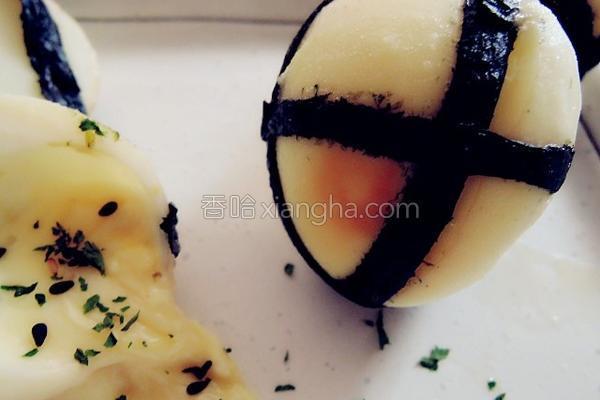 芝司水煮蛋的做法