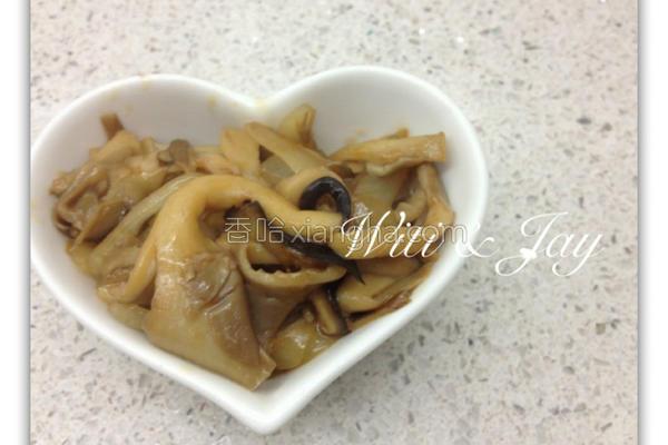 酱烧鲜菇的做法