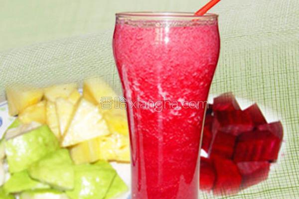 综合鲜果汁的做法