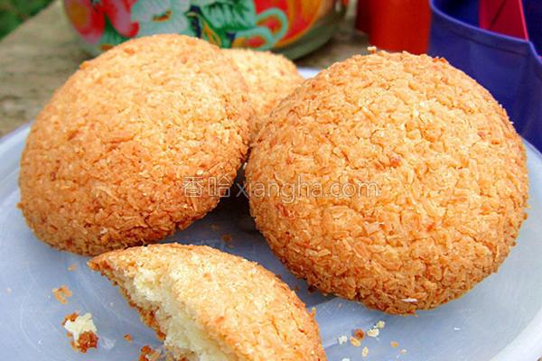 椰香杏仁饼干的做法