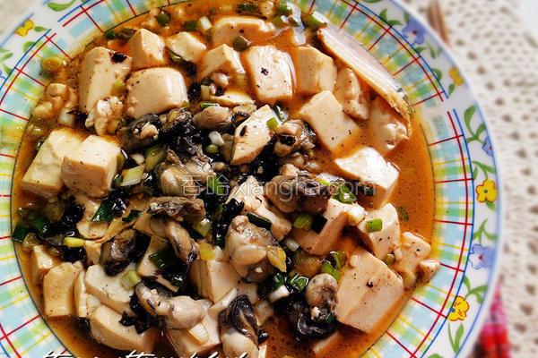 豆腐鲜蚵的做法