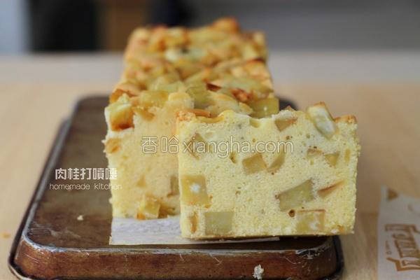 金时地瓜磅蛋糕的做法