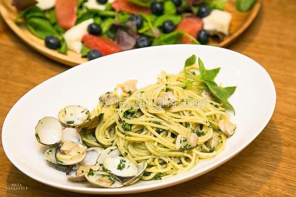 青酱蛤蜊意大利面的做法