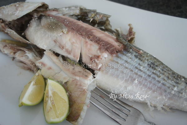 盐烤乌头鱼的做法