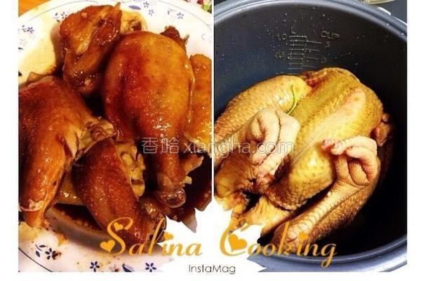 焗酱油鸡的做法