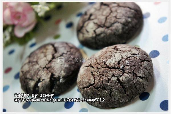 巧克力香浓脆饼的做法