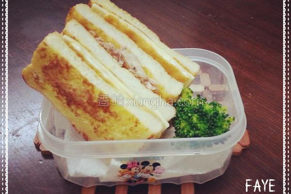 法国吐司三明治的做法