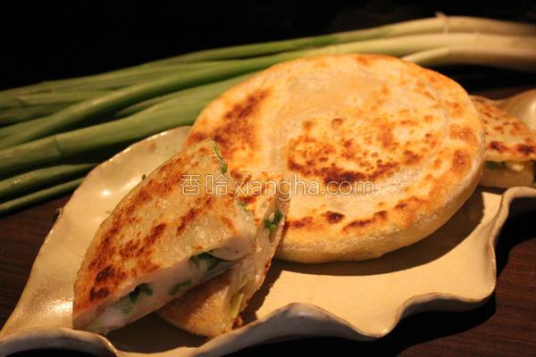 味蕾周记翠绿葱饼的做法
