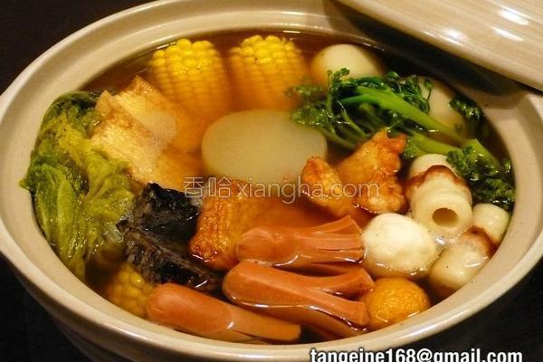 砂锅关东煮的做法