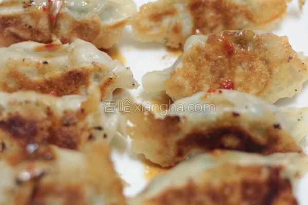 鲜肉韭菜煎饺的做法