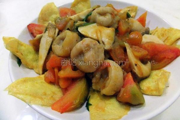 茄烧鲜饺的做法
