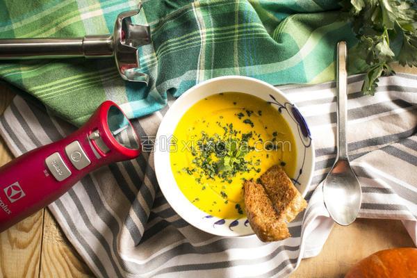 意大利乡村南瓜汤的做法