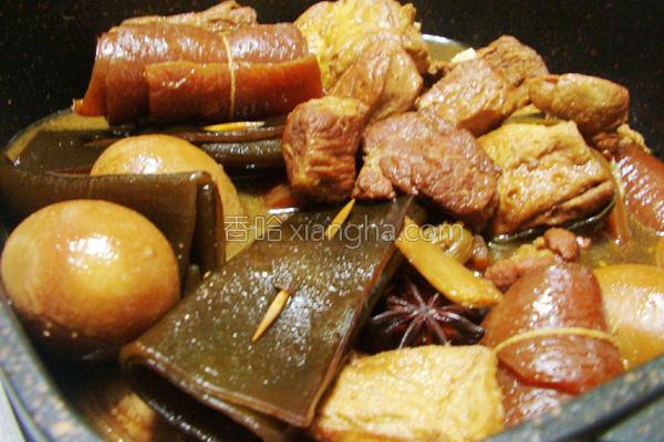 家常卤肉锅的做法