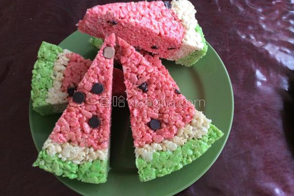 西瓜米饼的做法