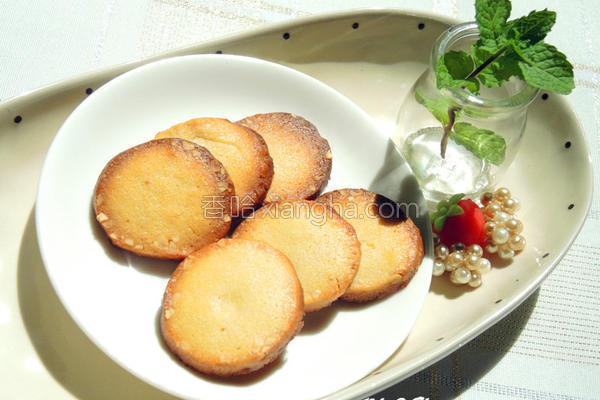 椰子杏仁酥饼的做法