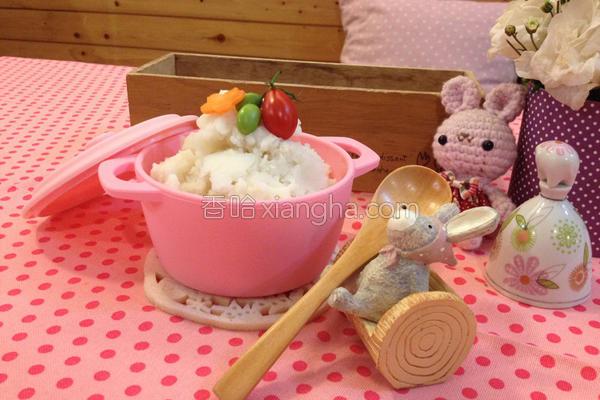 宝宝饭马铃薯也的做法