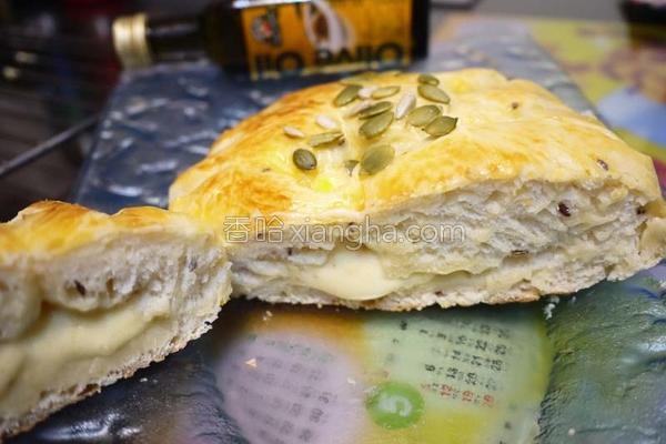 乳酪面包的做法