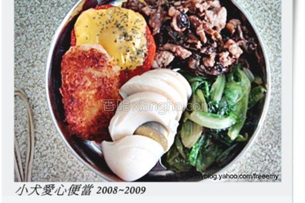 梅干肉燥饭的做法