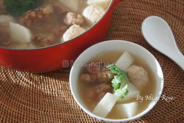 萝卜排骨酥汤的做法
