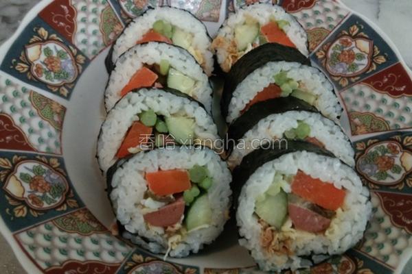 海苔寿司卷的做法