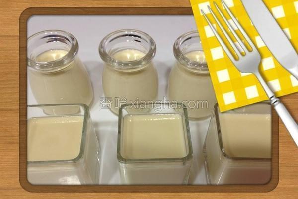 纯乳鸡蛋布丁的做法