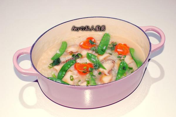做法粥的菜谱_鲍鱼_香哈网吃龙虾完小有点a做法图片