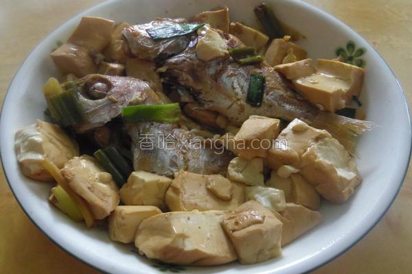 鱼烧豆腐的做法
