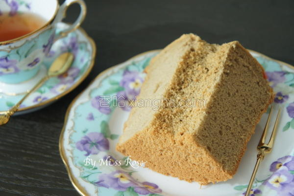 咖啡戚风蛋糕的做法
