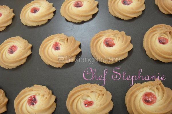 草莓果酱饼干的做法