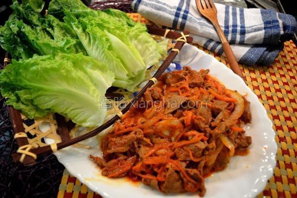 韩式烧牛肉的做法