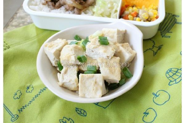 味噌冻豆腐的做法