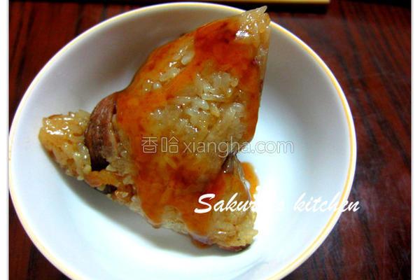 北部烧肉粽的做法