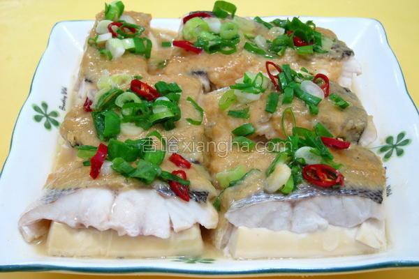 味噌豆腐鱼的做法