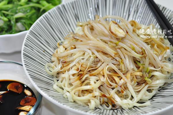 台南豆菜面的做法