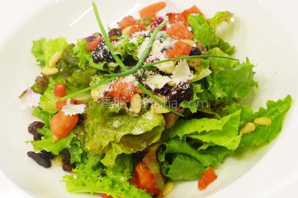 番茄洋葱沙拉的做法