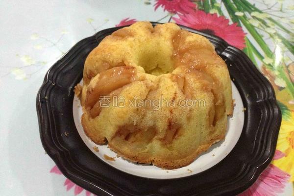 玉桂苹果蛋糕的做法