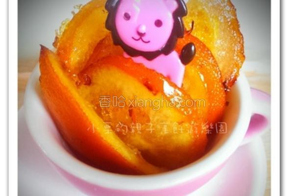糖渍橙片的做法