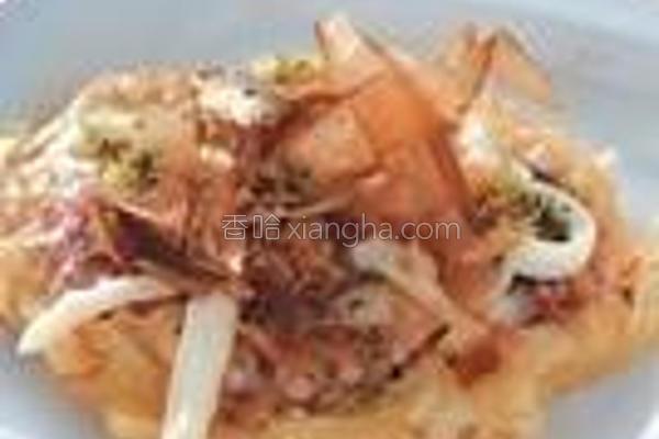 章鱼烧煎饼的做法