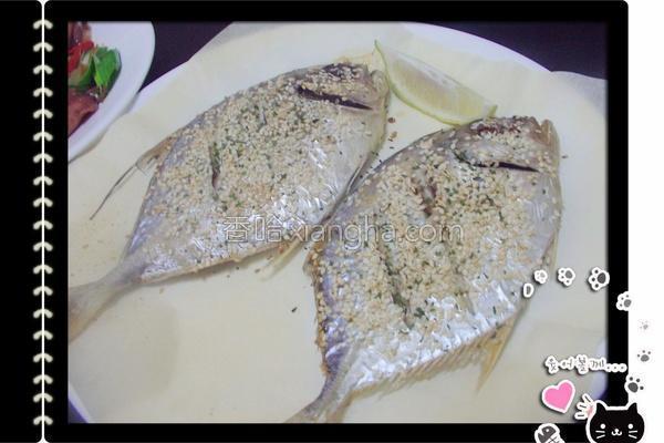 芝麻香烤瓜仔鱼的做法