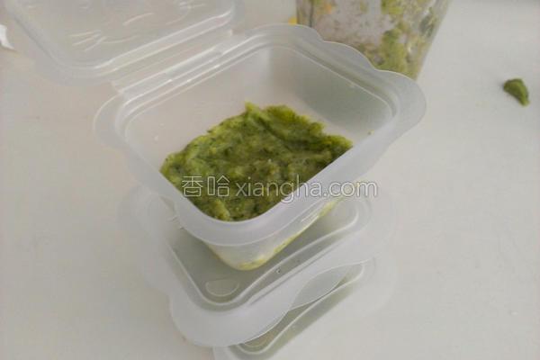 绿花椰菜泥的做法