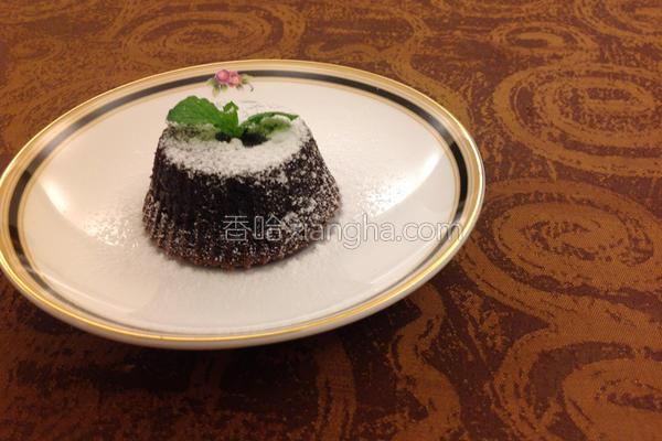 火山熔岩蛋糕的做法