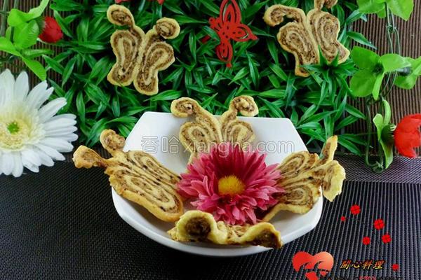 咖啡蝴蝶饼的做法